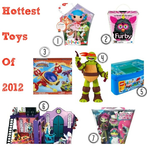 Momaroo's Hot Toys of 2012