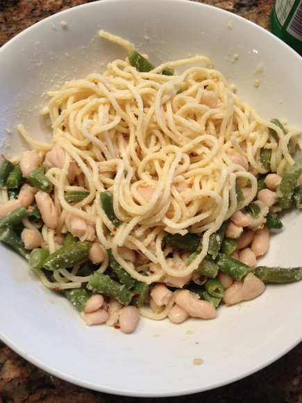Recipe: Green and White Bean Pasta